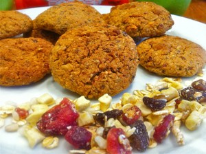 apple-cranberry-vanilla-oat-cookies