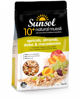 10+ Sunsol Apricots Almonds Dates Macadamias