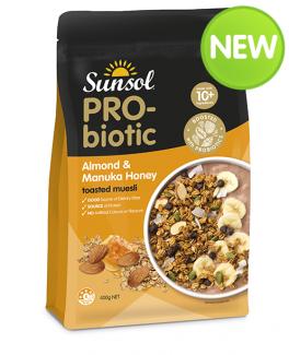 Probiotic Almond Manuka Honey Muesli