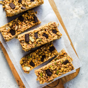 sunsol peanut butter muesli bars